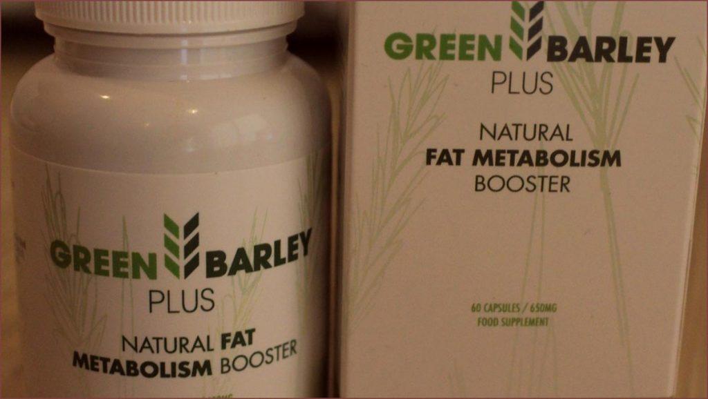 Photo bruleur de graisse Green Barley Plus