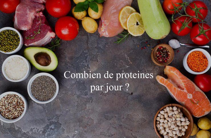 Combien de proteine par jour consommer