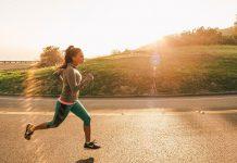 course femme matin